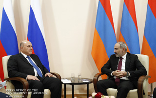 PM Nikol Pashinyan extends birthday greetings to Russian Premier