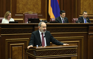 Remarks delivered by PM Pashinyan while presenting the 2020 Government Program Performance Report in the National Assembly