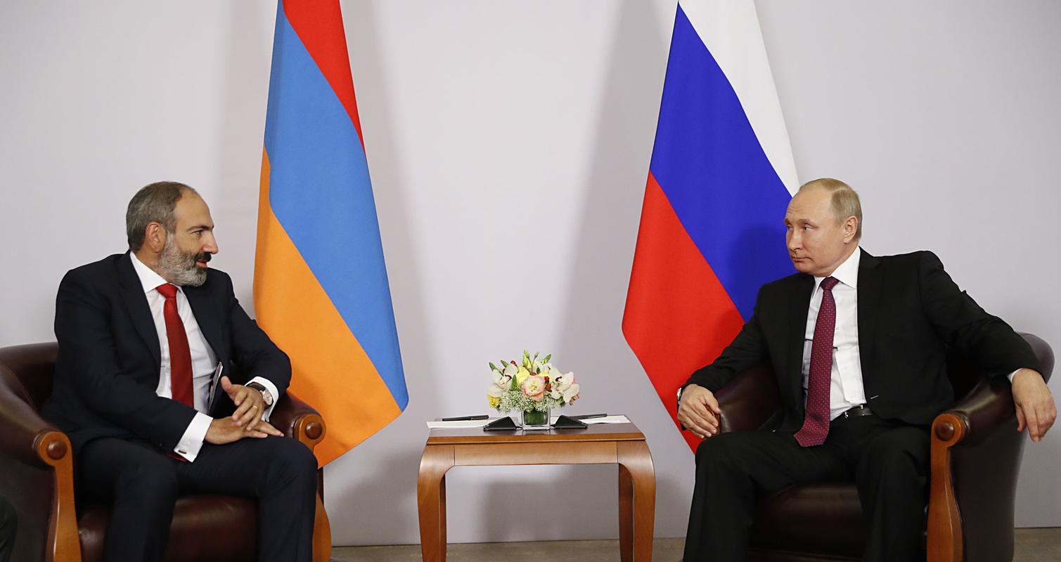 Пашинян на встрече с Путиным: Никто никогда не поставит под сомнение стратегическую важность армяно-российских отношений
