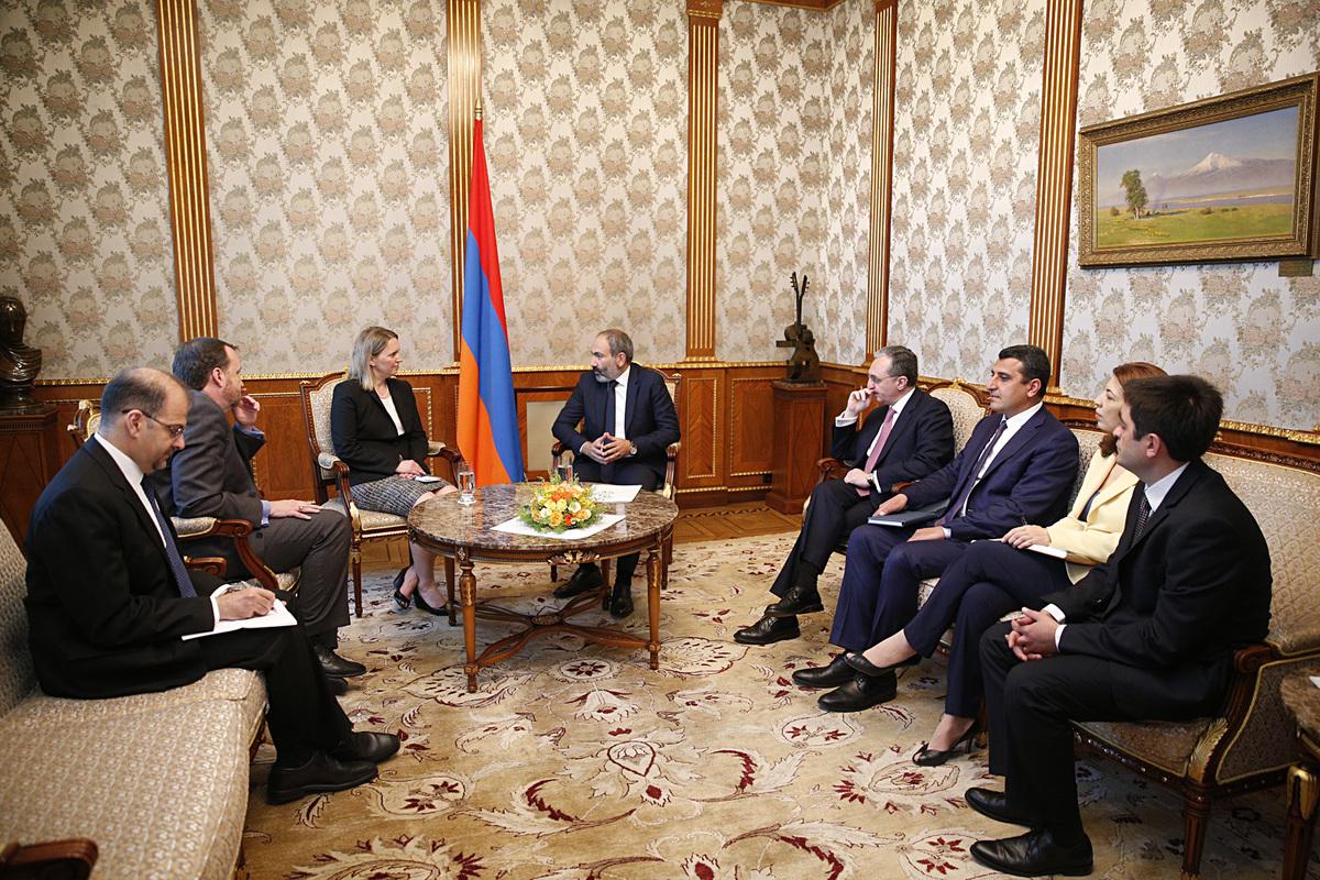 Бриджит Бринк: Я впечатлена молодыми лидерами Армении
