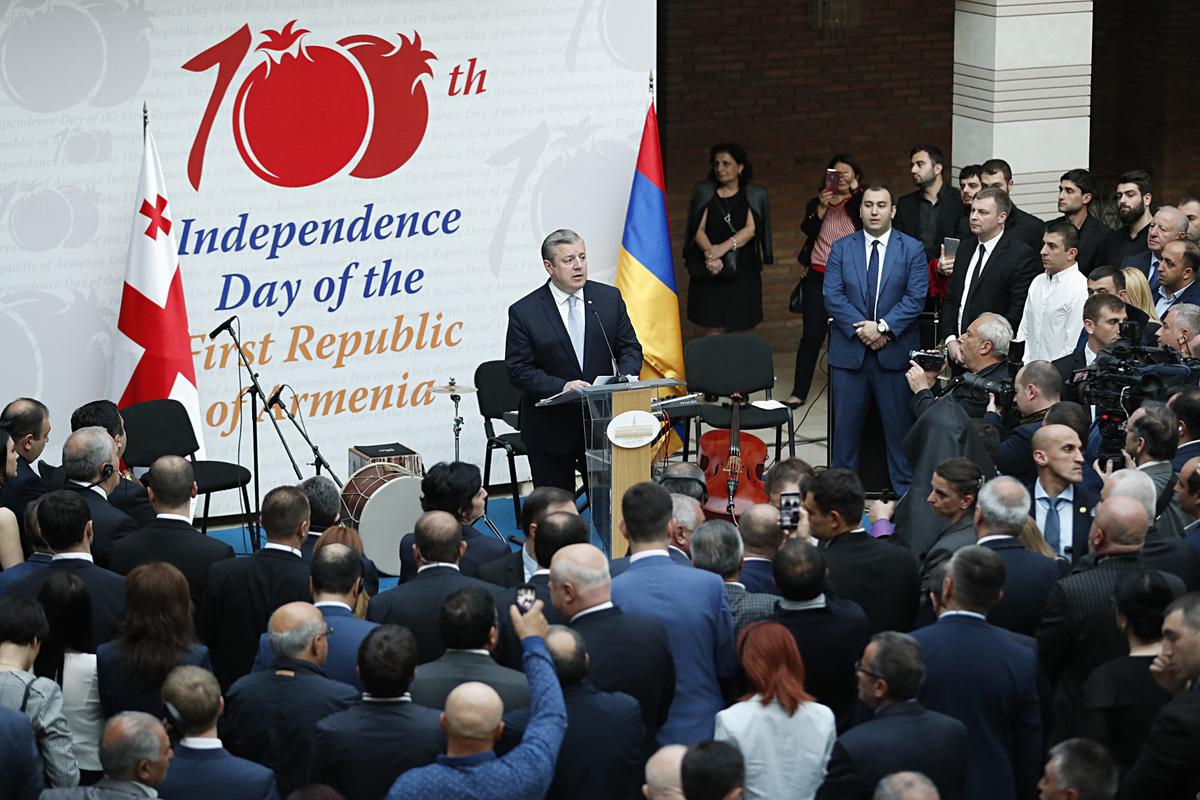 Премьер Грузии: Жизненный путь Ованеса Туманяна – символ армяно-грузинской дружбы