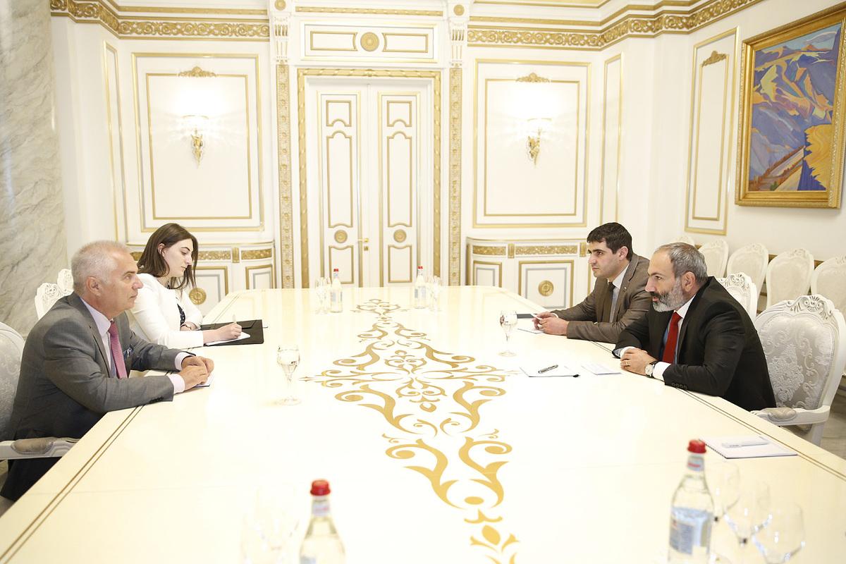 Никол Пашинян и Петр Свитальски обсудили вопросы армяно-европейской повестки