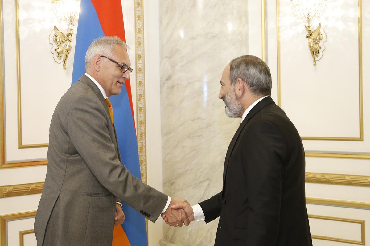 Посол Германии считает перспективным сотрудничество с Арменией в ряде сфер