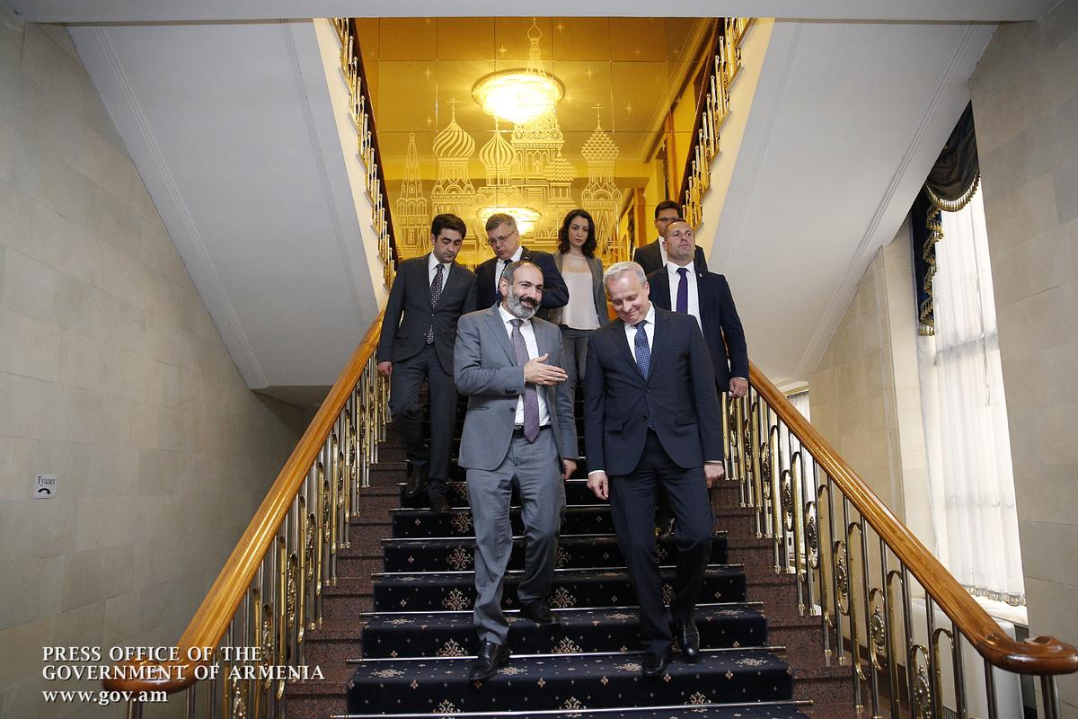 Никол Пашинян: Мы в Армении ценим многовековые дружественные связи с Россией