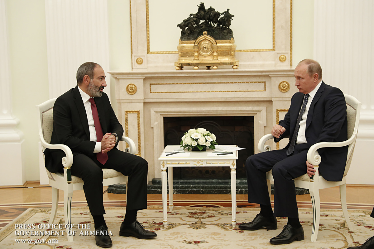 Тот факт, что мы встречаемся через 30 дней, это показывает особый характер отношений Армении и России: Пашинян – Путину