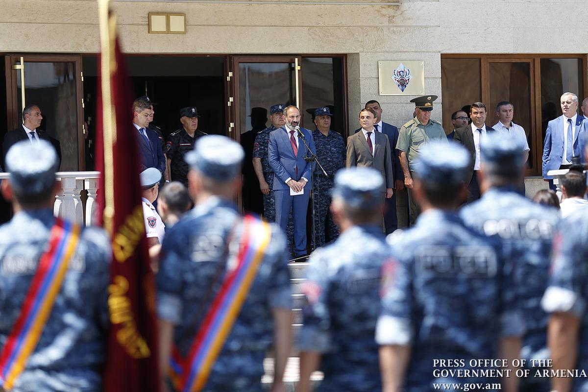 Никол Пашинян: в Армении происходит исторический процесс примирения правоохранительной системы и общества