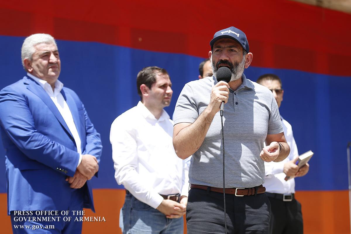 Премьер Армении: Должность должна восприниматься как служба