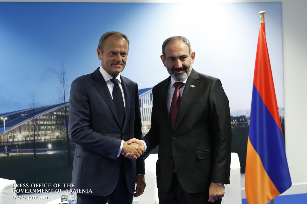 Председатель Евросовета: То, что произошло в Армении, было уникально и очень по-европейски