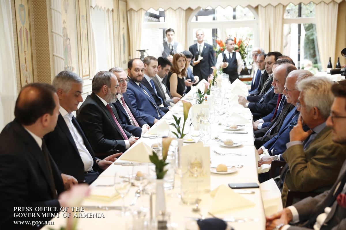 Пашинян: Правительство Армении заинтересовано в росте торгового оборота с Бельгией