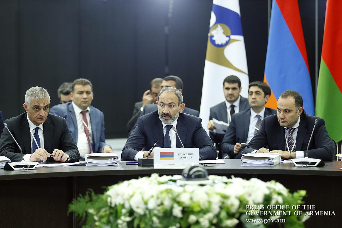 В Санкт-Петербурге стартовало заседание Евразийского межправительственного совета в расширенном составе