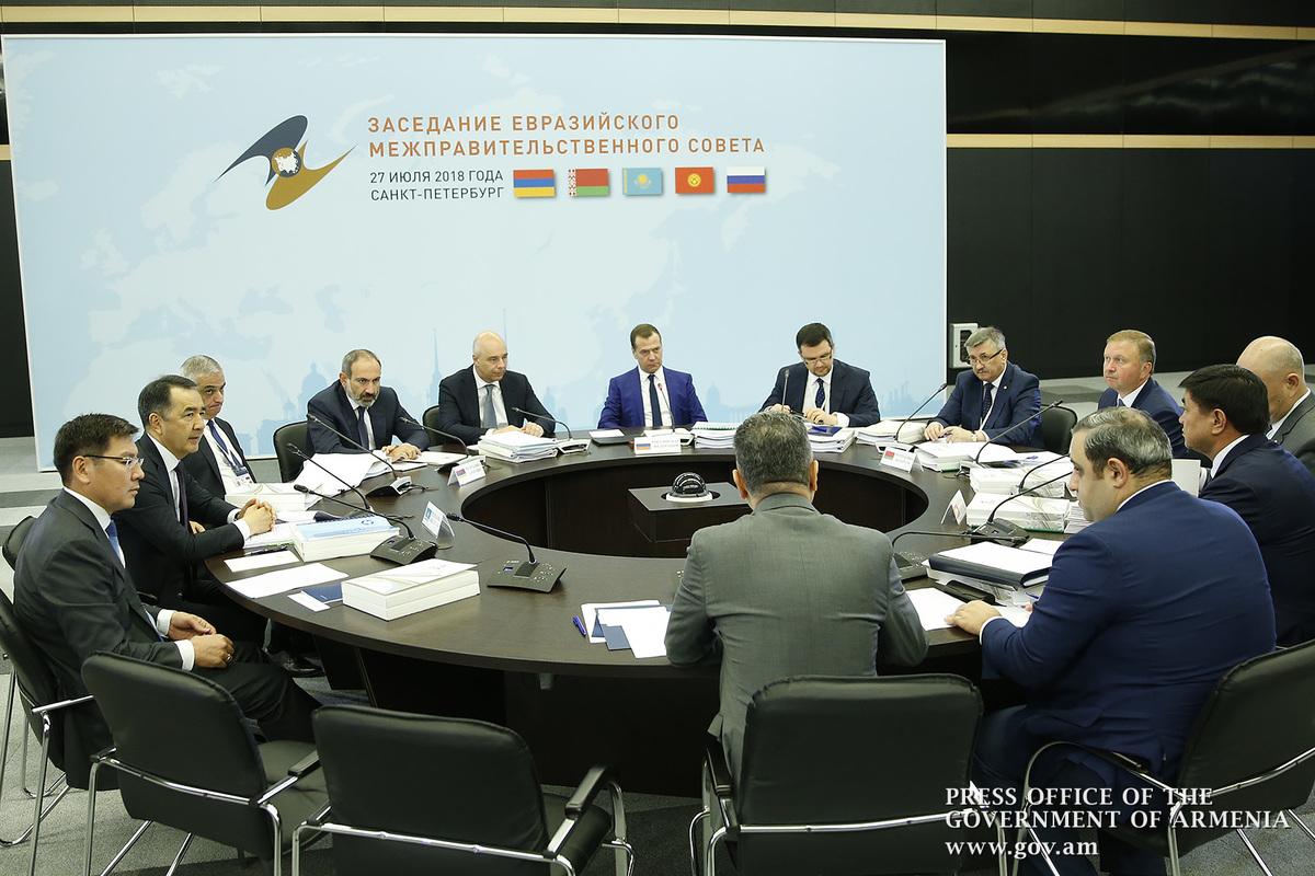Дмитрий Медведев: Евразийская пятерка успешно развивается, стабильно растет и товарооборот