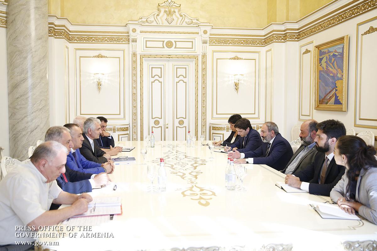Премьер-министр принял членов Объединения работодателей Армении – обсуждались вопросы развития экономики