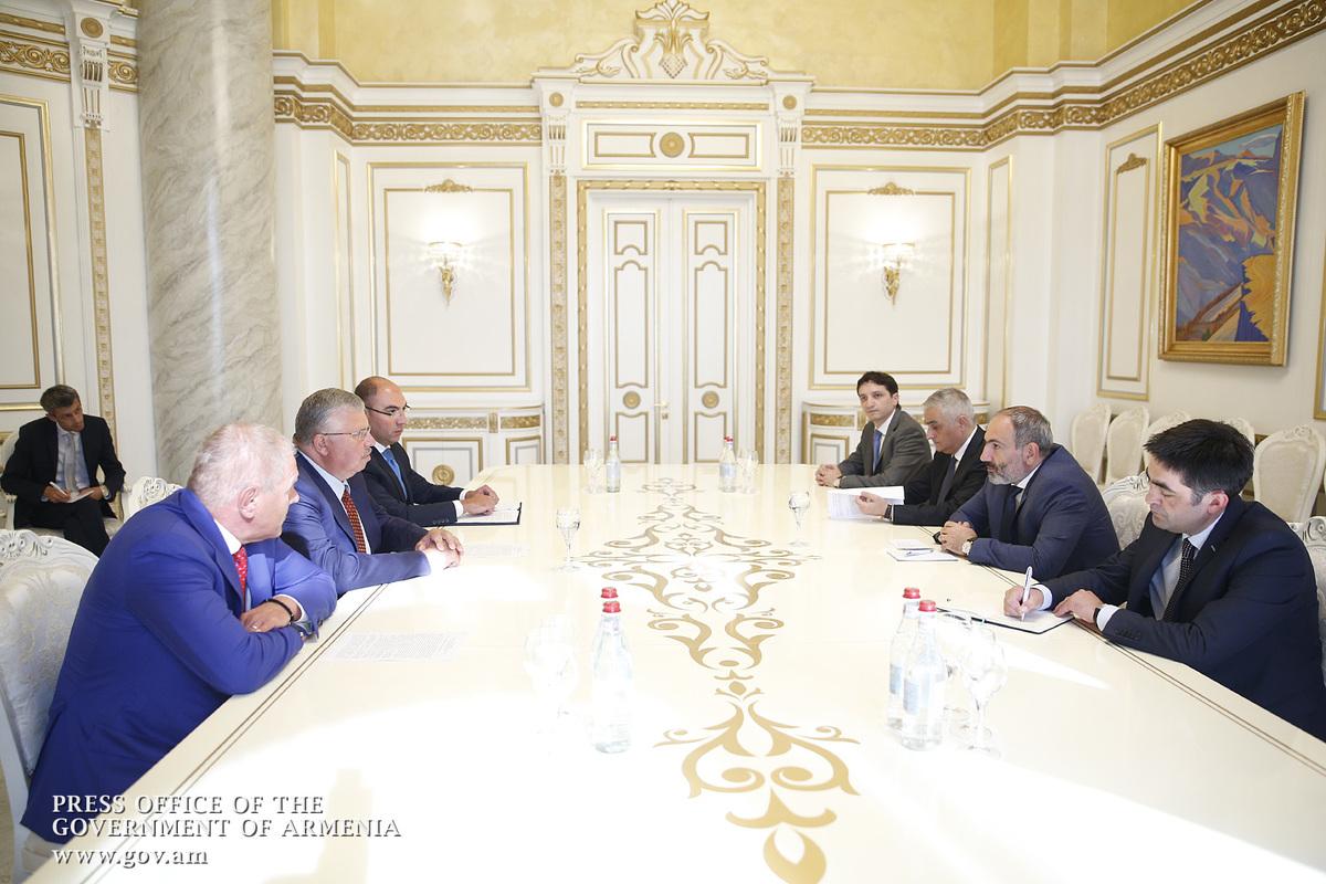 Андрей Бельянинов: Евразийский банк развития желает расширить свою деятельность в Армении