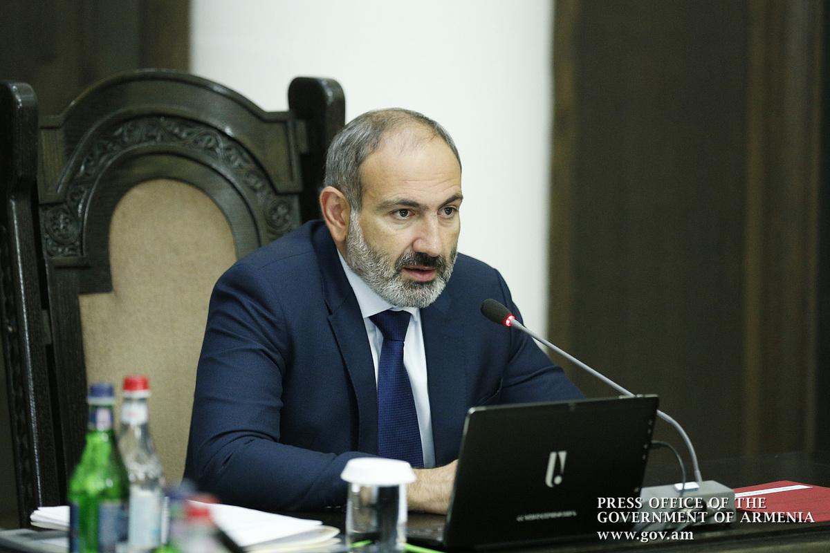 Пашинян: Изменение структуры экономического роста является одним из политических приоритетов