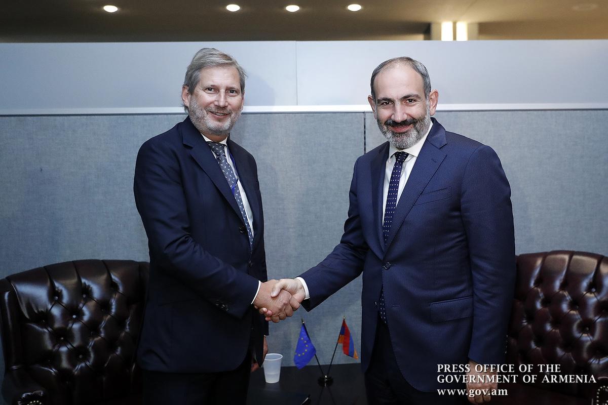 Йоханнес Хан: Армения может рассчитывать на последовательное содействие ЕС