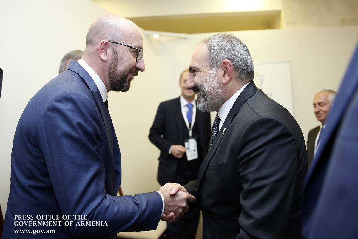 Никол Пашинян встретился с президентом Молдовы, премьером Бельгии и Гендиректором ЮНЕСКО