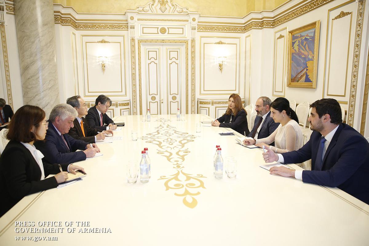 Посол: Корея заинтересована в развитии двустороннего экономического сотрудничества с Арменией