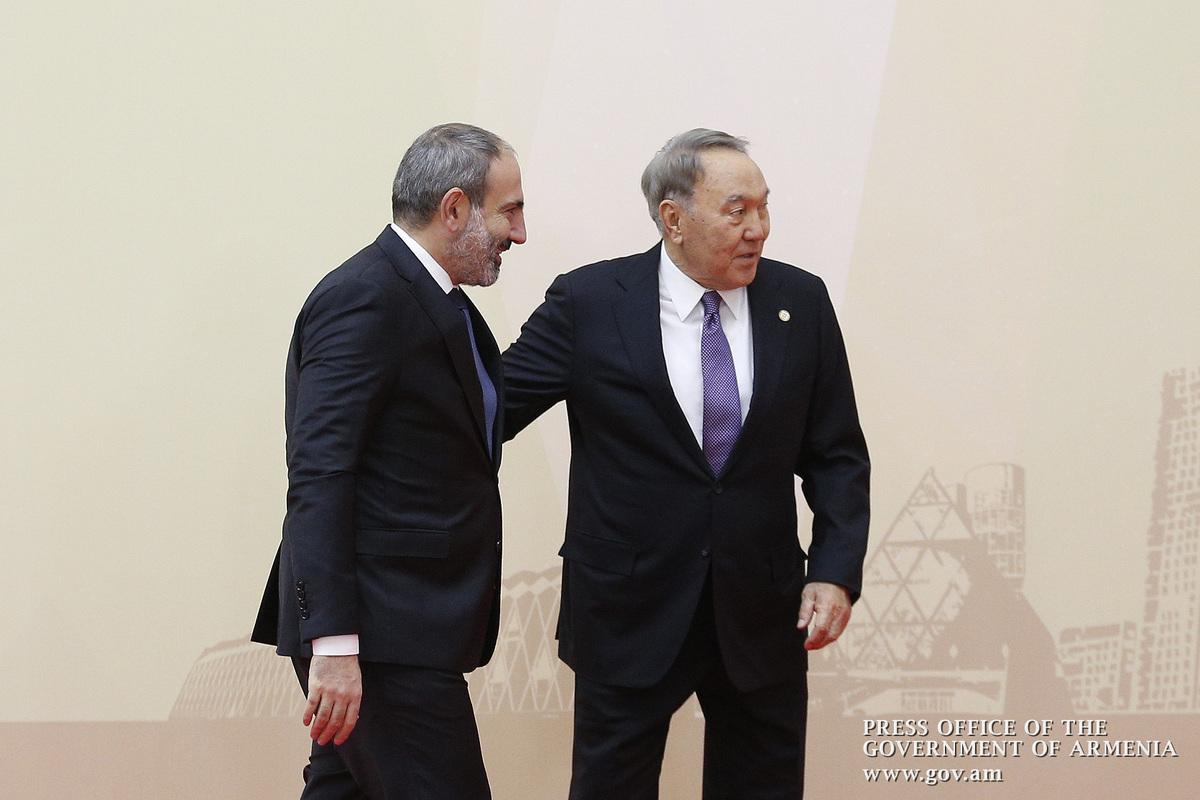 Назарбаев признался в заговоре против Армении