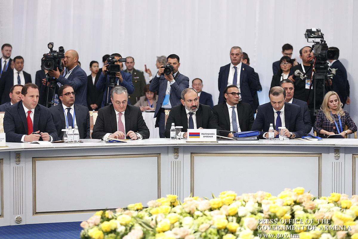 На саммите Совета коллективной безопасности ОДКБ в Астане принят ряд документов