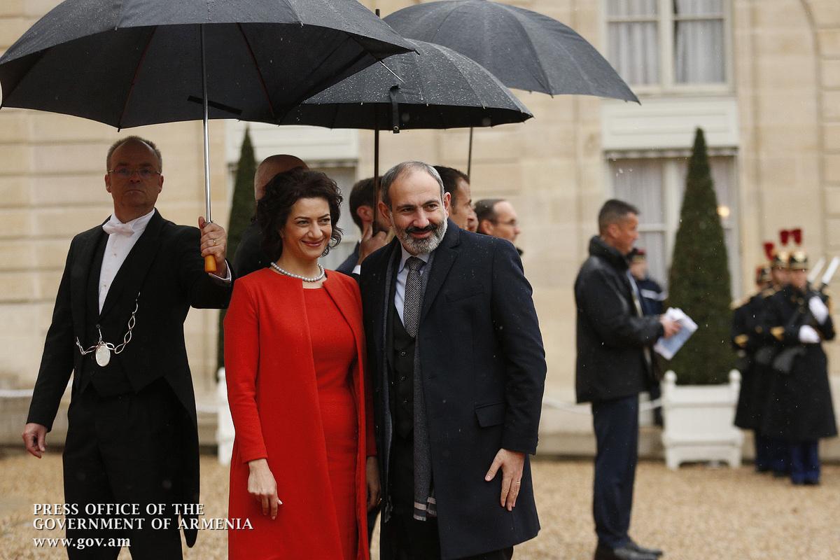 Никол Пашинян в Париже принял участие в посвященной 100-летию подписания перемирия в Первой мировой войне торжественной церемонии