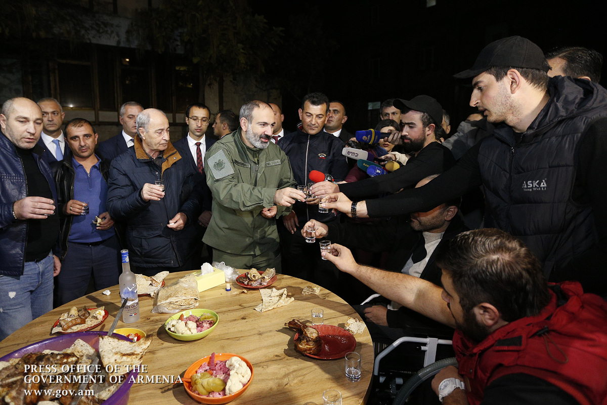 Семья Роберта Абаджяна отметила день рождения сына – Героя Арцаха – в Реабилитационном центре защитника Отечества