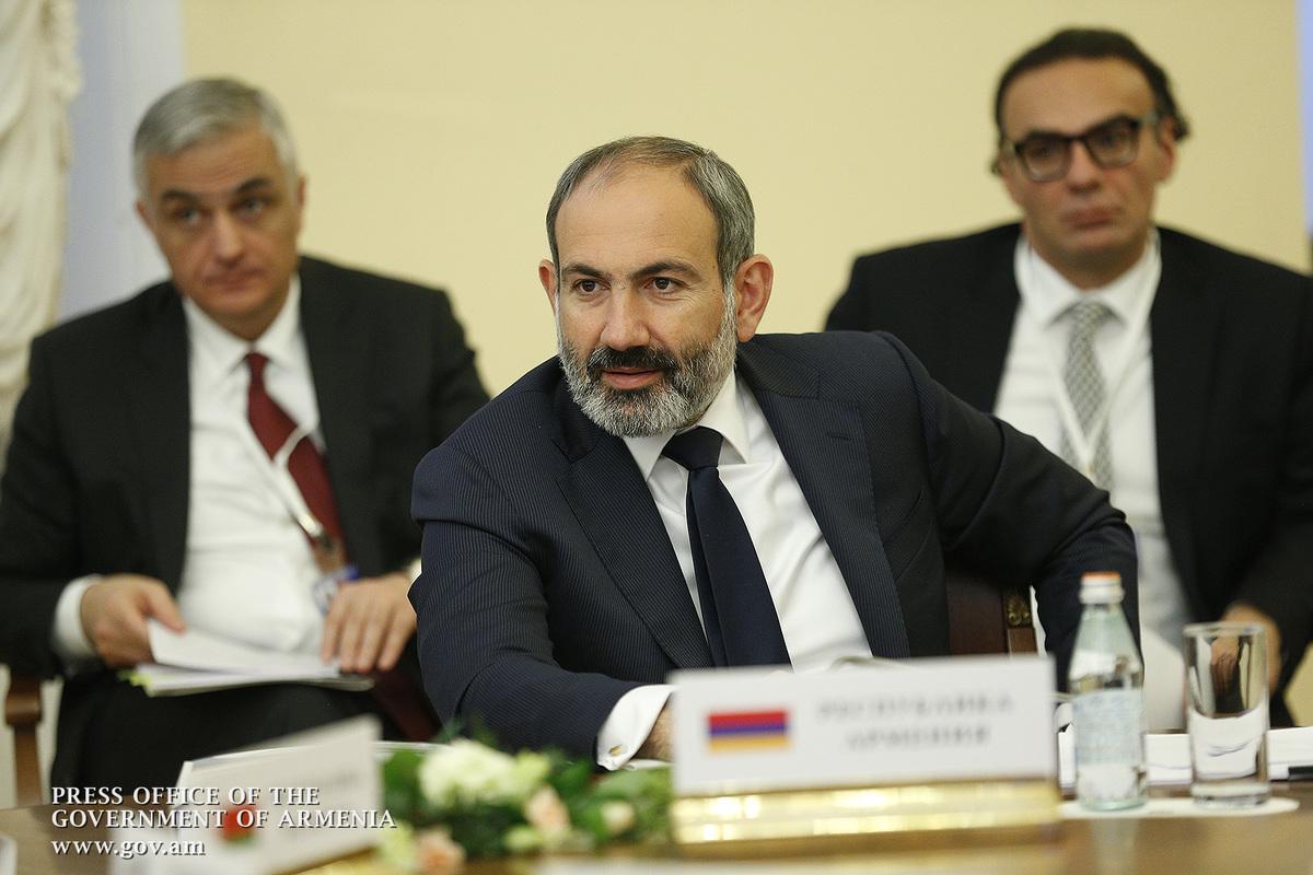 Пашинян сообщил главам стран ЕАЭС о намерении развивать технологические сферы экономики Армении