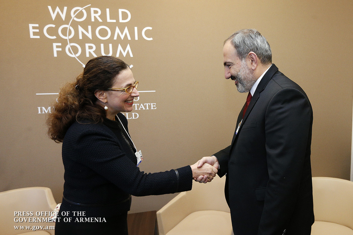 Nikol Pashinyan discusses cooperation prospects with