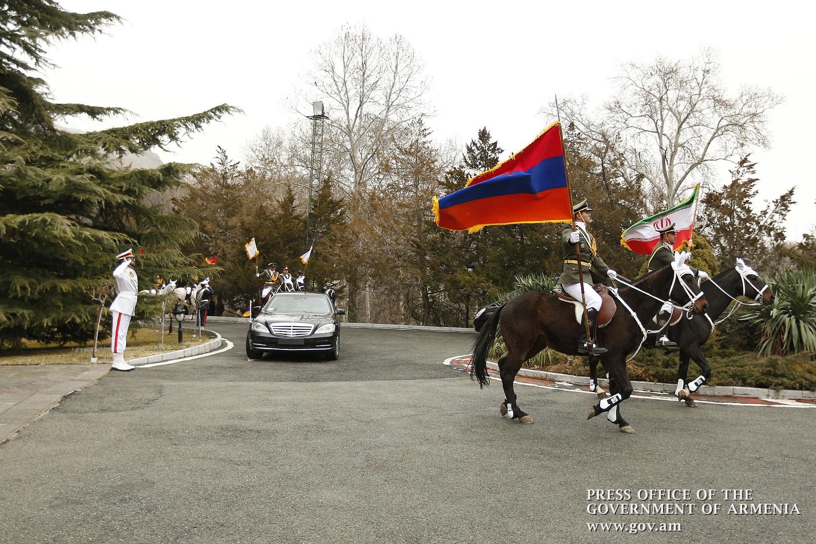 образцовые отношения Армения Иран