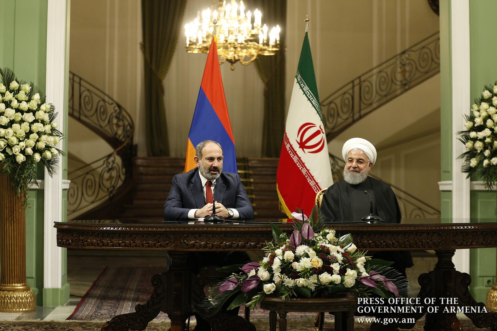Улучшение отношений по всем направлениям Иран Армения