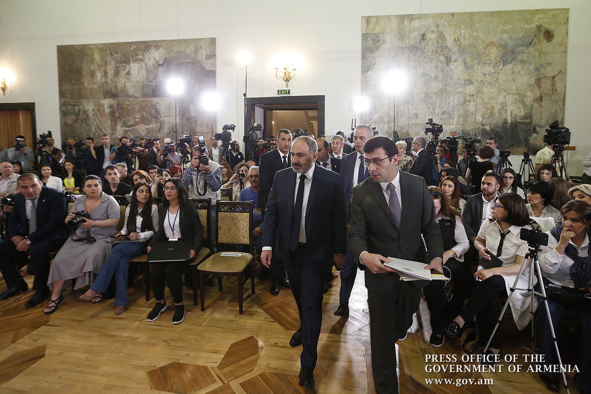 """100 Facts about New Armenia"""" - Introductory remarks by Prime"""
