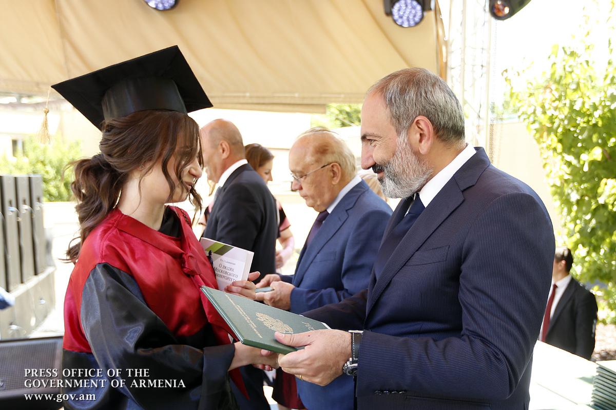 Никол Пашинян: Единственным ключом к решению существующих в Армении проблем являются знания