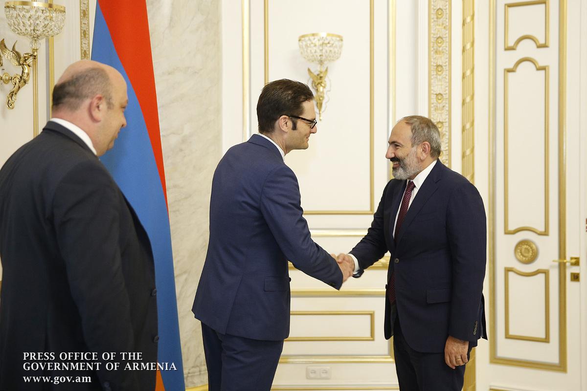 Пашинян: Армения является лидером в Европе по росту ВВП по итогам первого квартала 2019 года