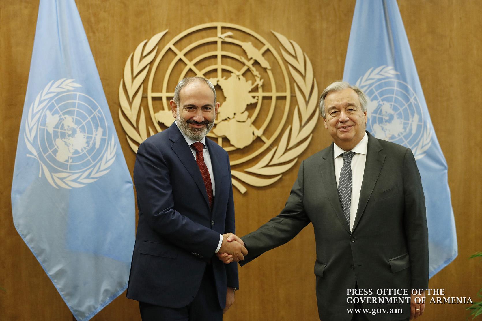 Pashinyan UN