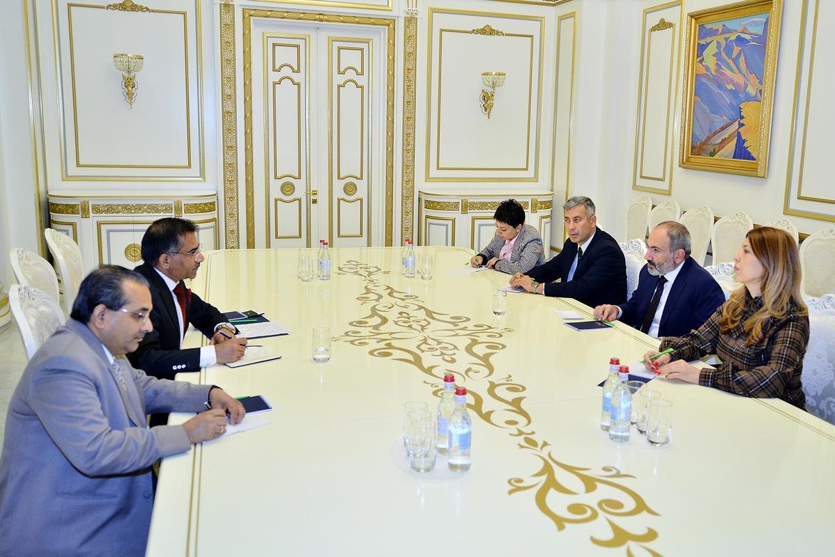Правительство Индии заинтересовано в расширении и укреплении экономических связей с Арменией