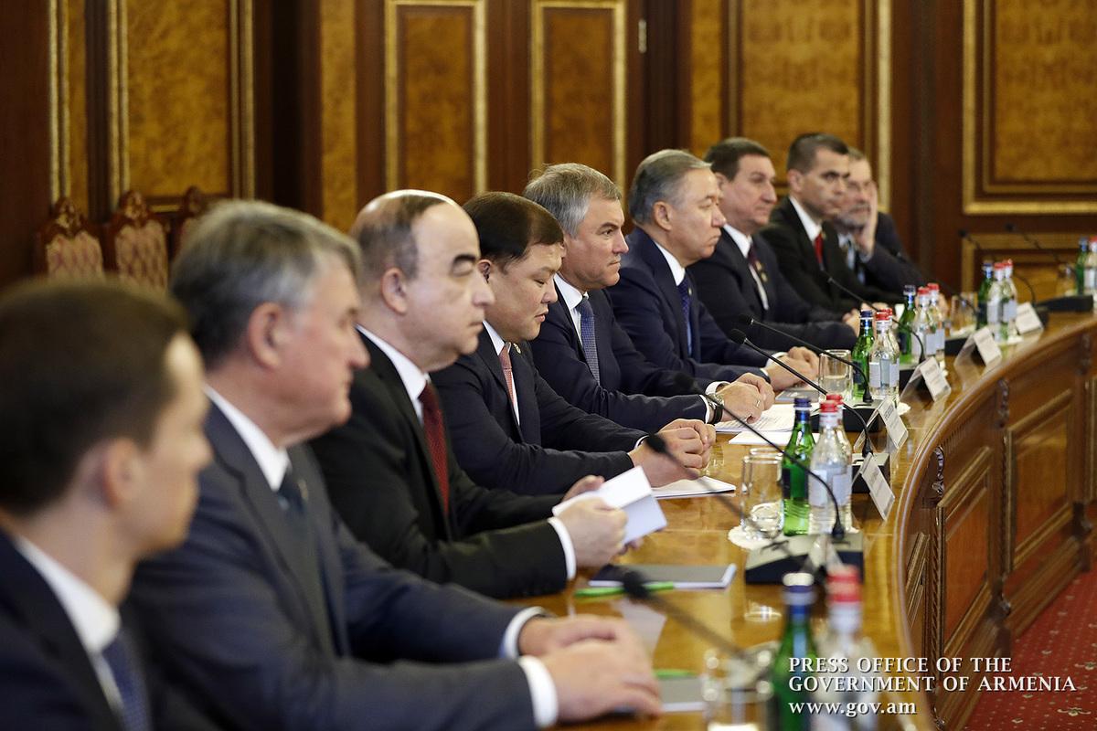 В Ереване проходит XII пленарное заседание Парламентской Ассамблеи ОДКБ