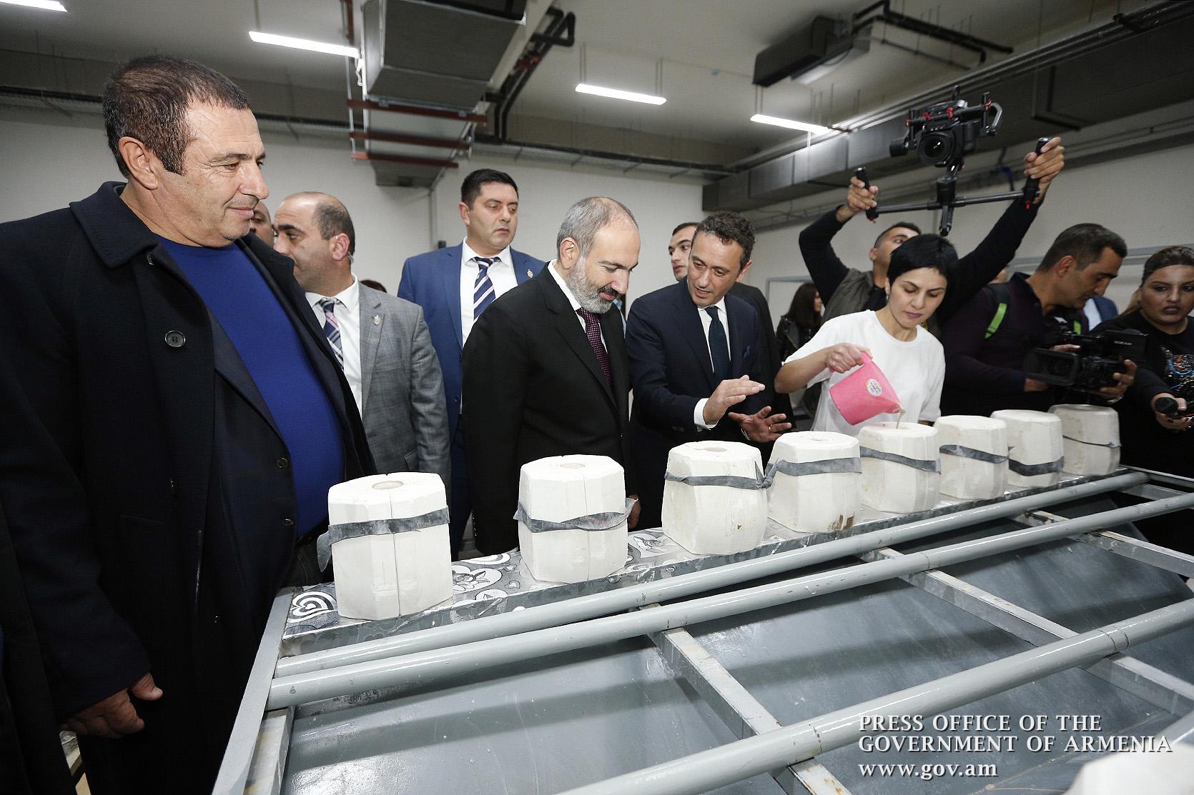 Крупные заводы в Армении