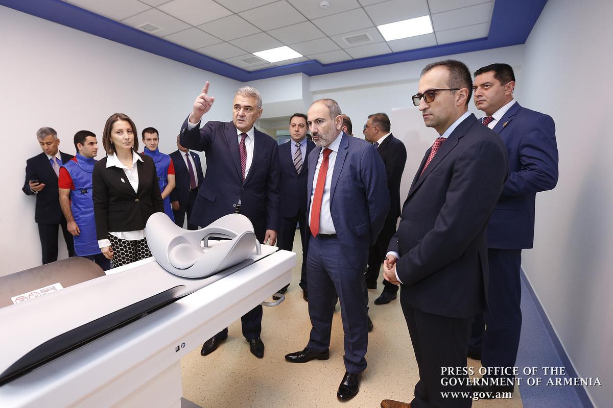 Премьер-министр присутствовал на церемонии открытия Европейского центра ядерной медицины