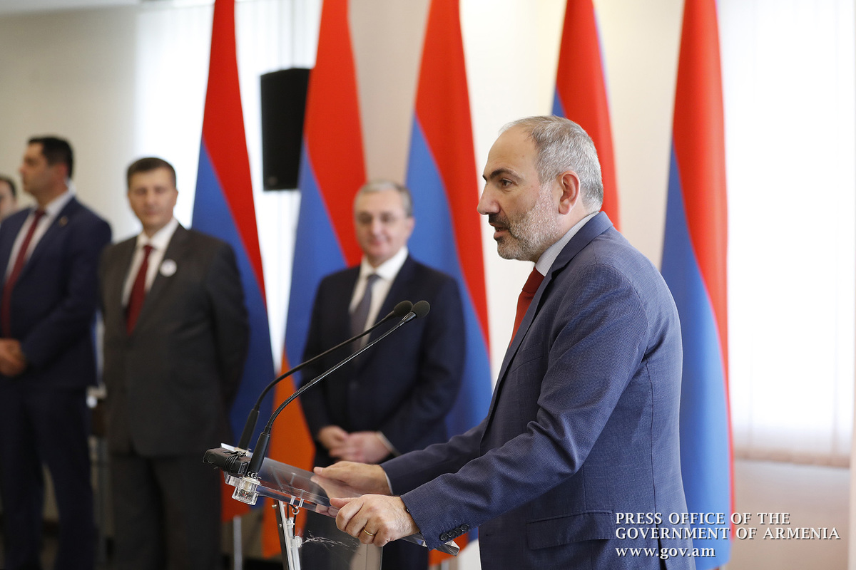 "Nikol Pashinyan: ""The diplomatic service should give the world a better understanding of our state and nation"""