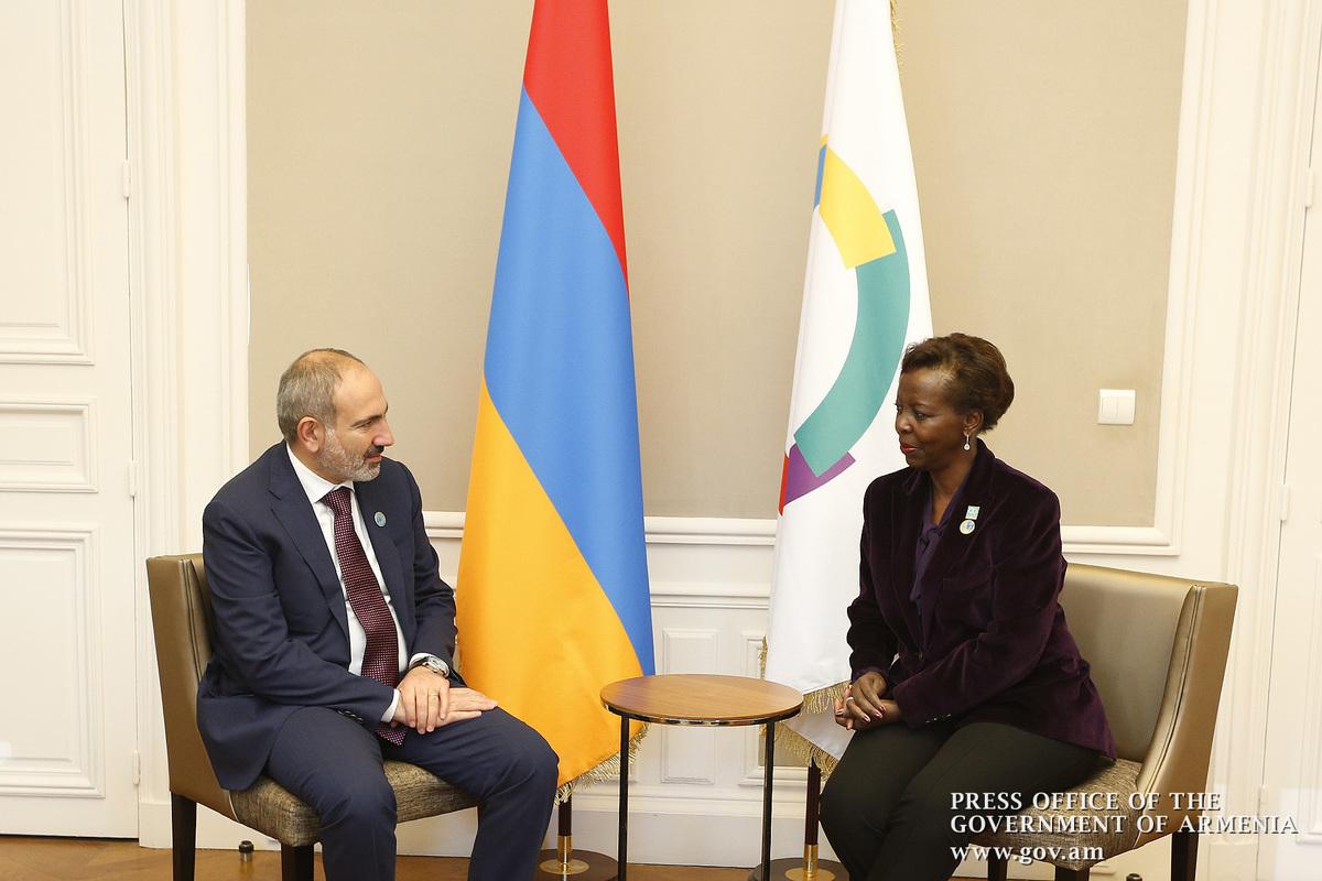 Никол Пашинян: Подтверждаю приверженность Армении действовать во имя Франкофонии и распространения ее ценностей