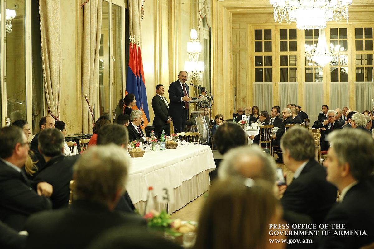 Между Арменией и диаспорой нет границ, мы - единое целое: Никол Пашинян