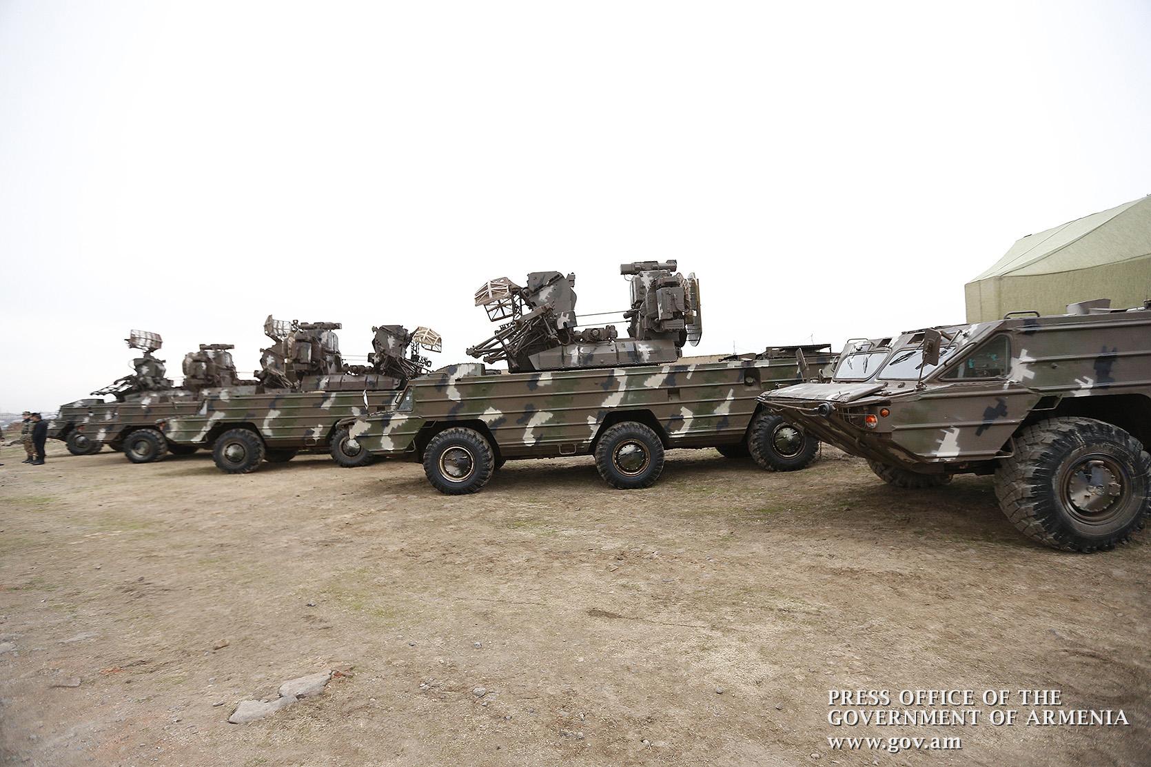 Армения приобрела большую партию зенитных ракет «Оса-АК»