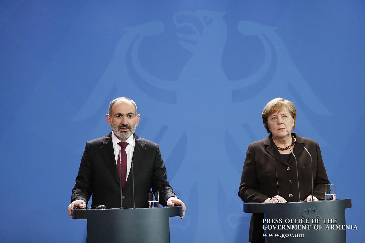 Никол Пашинян: Германия – близкий друг и партнер Армении