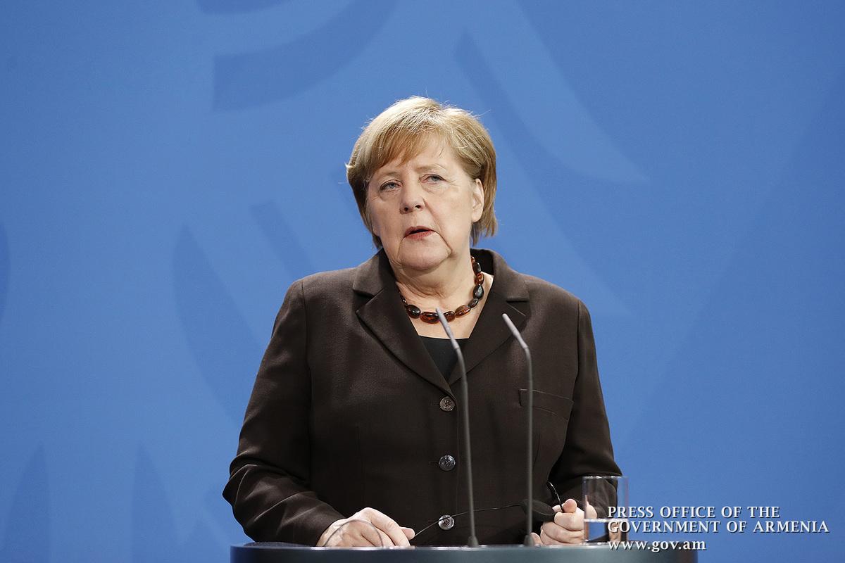 Ангела Меркель: Среди важнейших вопросов обсуждения – тема урегулирования карабахского конфликта