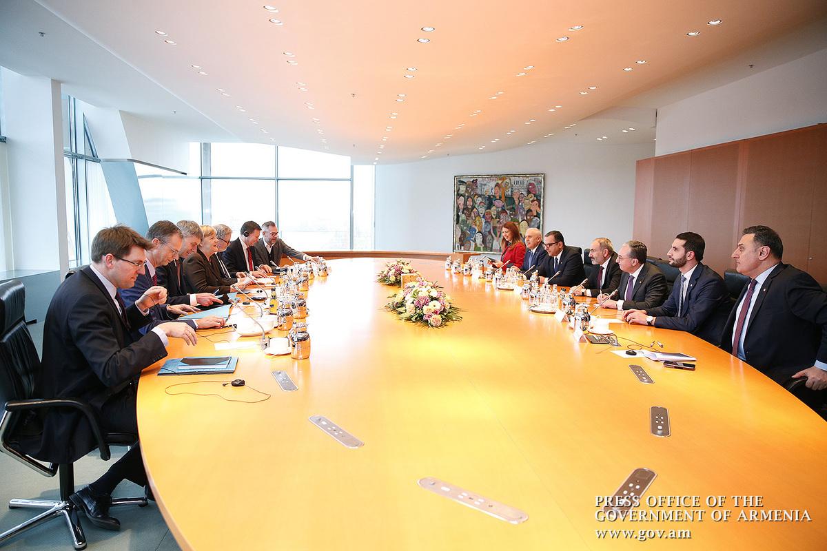 В Берлине состоялись армяно-германские переговоры на высоком уровне
