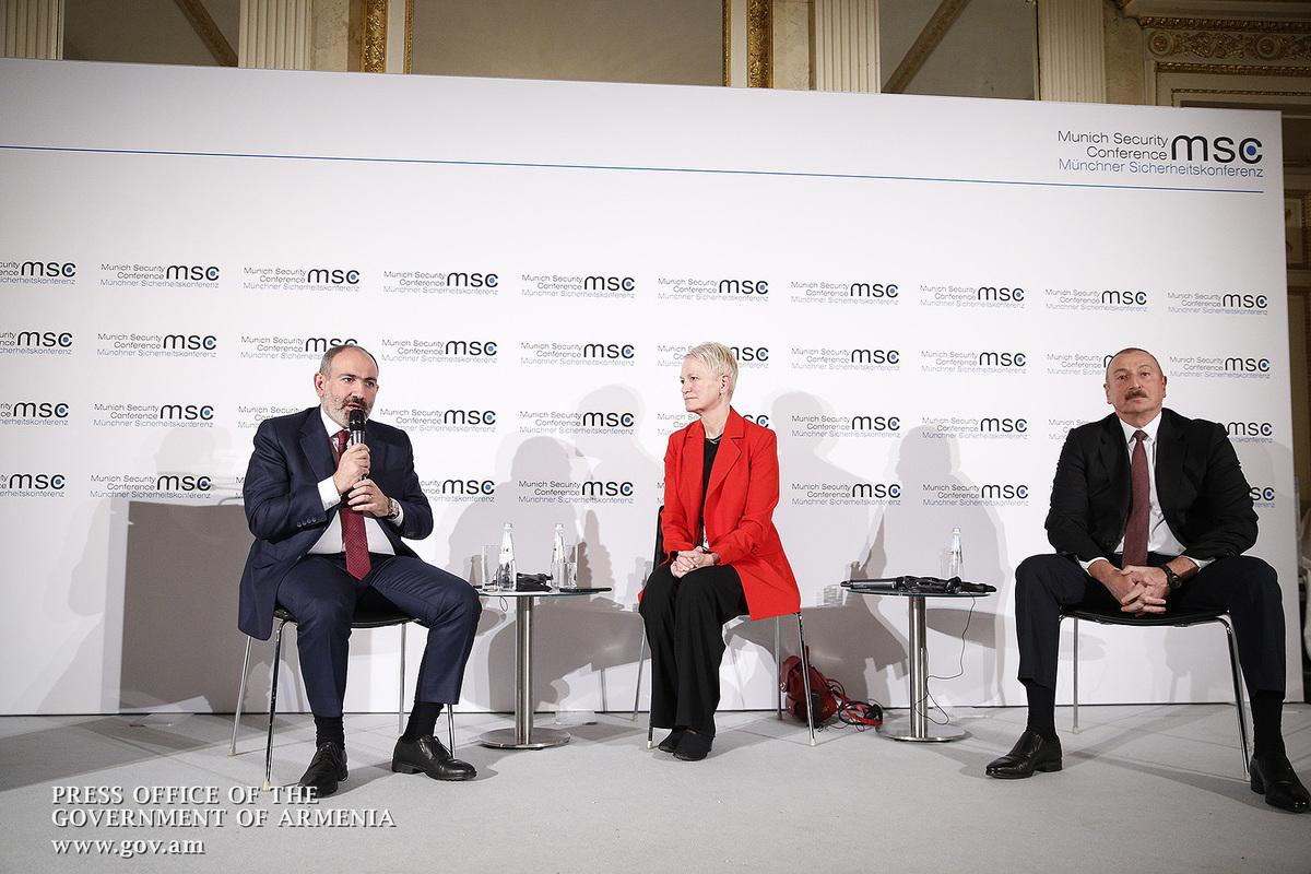 Алиев изложил в Мюнхене многолетние стереотипы. Пашинян предложил возможные решения и их механизмы