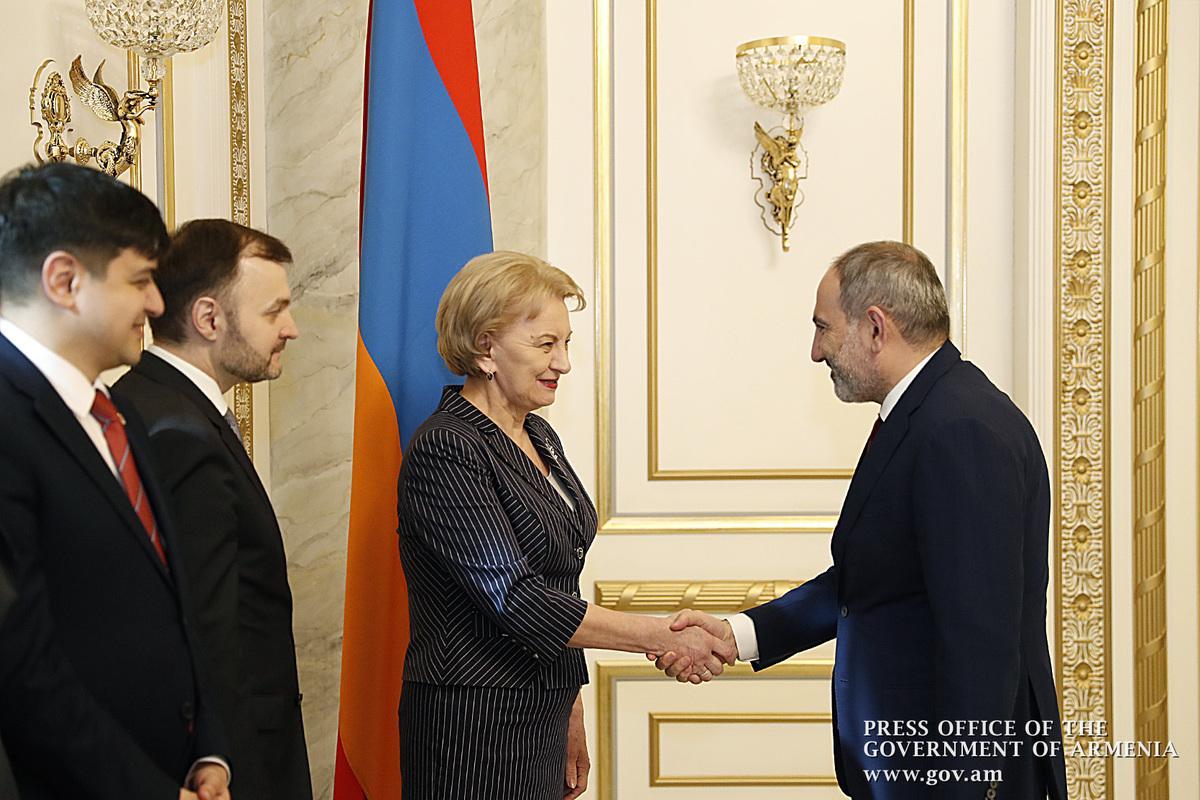 Премьер-министр Армении и спикер парламента Молдовы обсудили вопросы сотрудничества