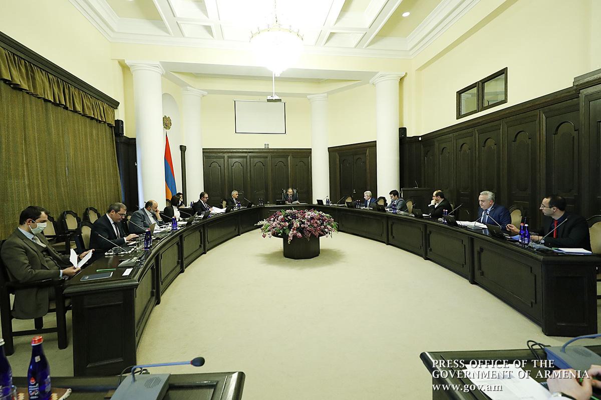 В правительстве Армении обсуждены результаты антикризисных мероприятий и возможности реализации программ в сфере сельского хозяйства