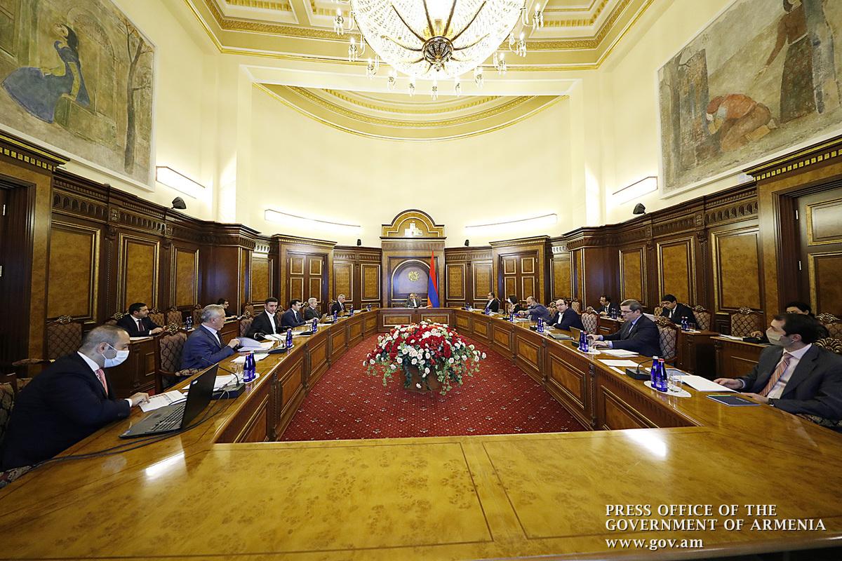 В правительстве Армении обсуждены возможности реализации инвестиционных программ в разных сферах