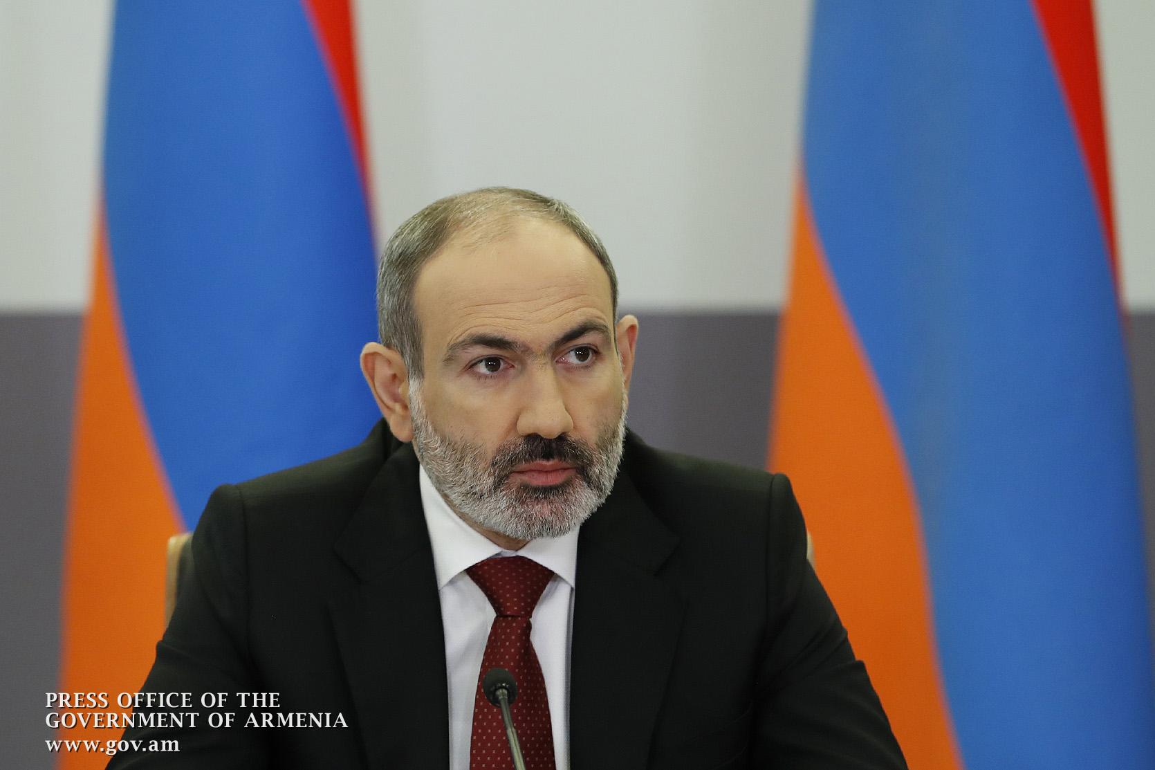 Никол Пашинян на заседании Совбеза перечислил национальные цели армянского государства