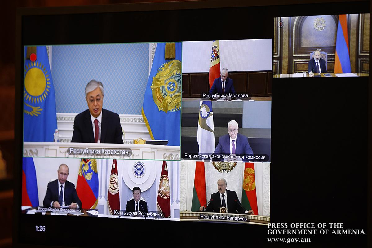 Премьер Армении принял участие в саммите ЕАЭС - подробности